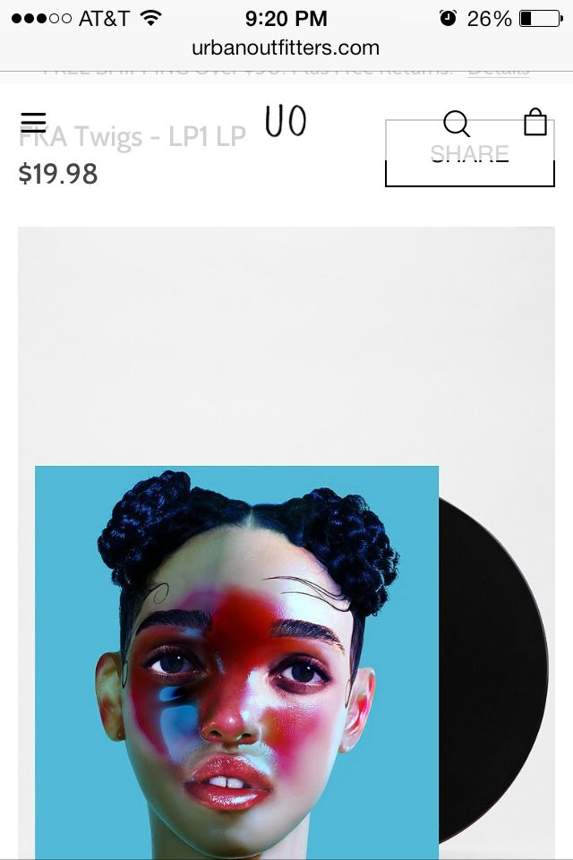 Discovered FKA Twiggs, love her, need her on vinyl.