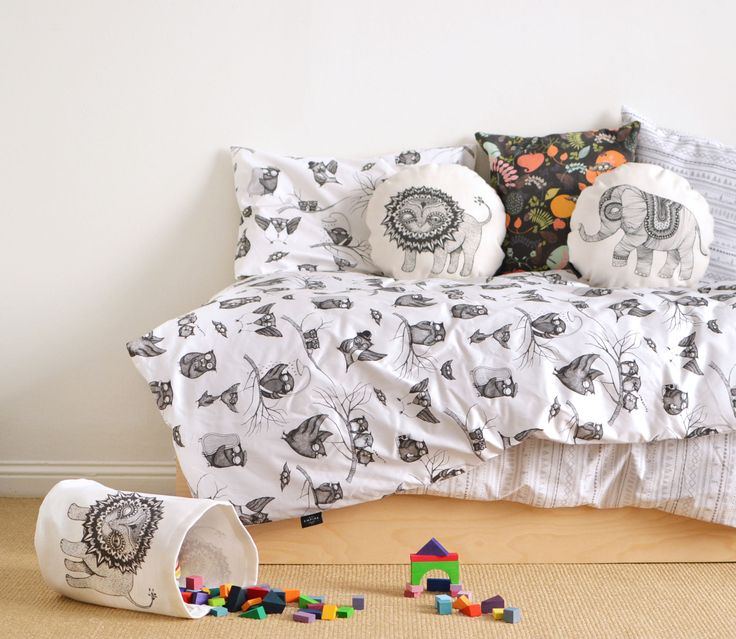 Mini Empire bedding and cushions