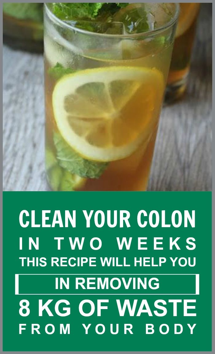 Clean Your Colon In Two Weeks. This Recipe Helps You In Removing 8 Kg Of Waste… #weightlossmotivation