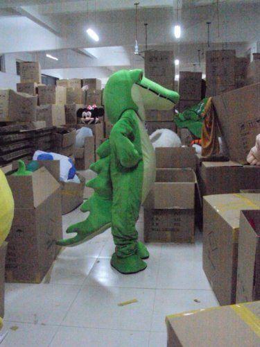 Amazon.com: Cartoon Character Costume - Crocodile (Costume Male / Female): Adult Sized Costumes: Clothing