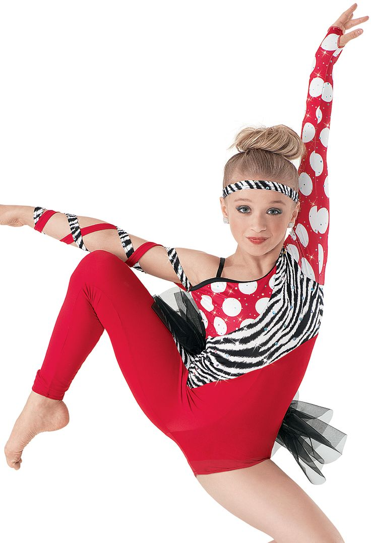 Weissman™ | Asymmetrical Mixed Print Unitard