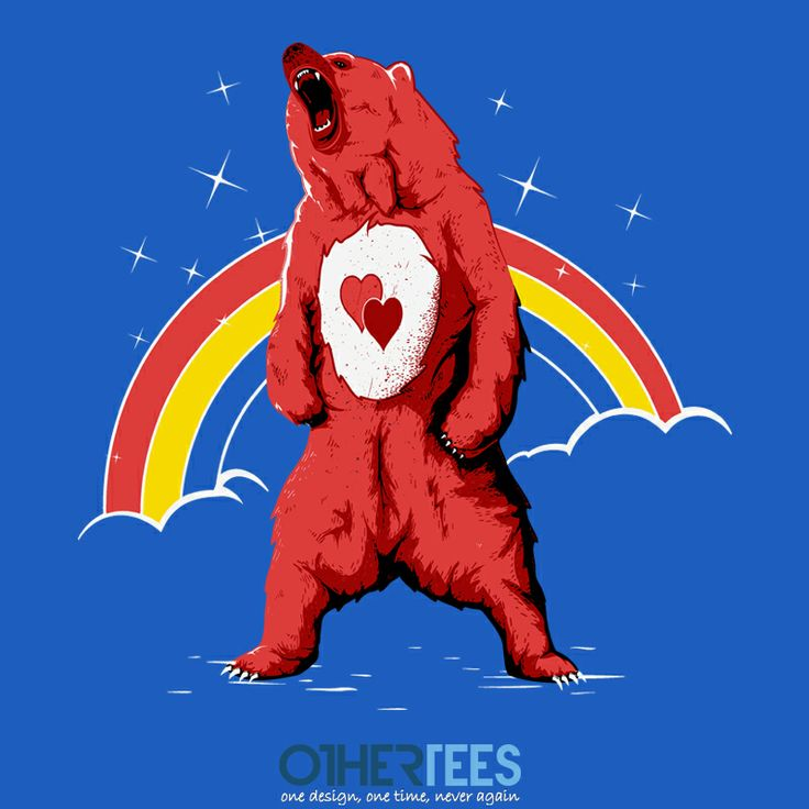 Bisoubear by Theduc Shirt on sale until 31 March on http://othertees.com #carebears