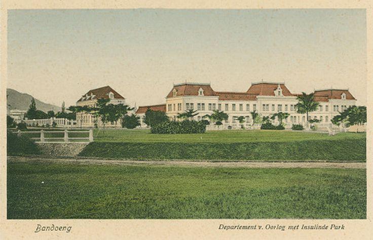 Department of War near Insulindepark Bandoeng 1938.