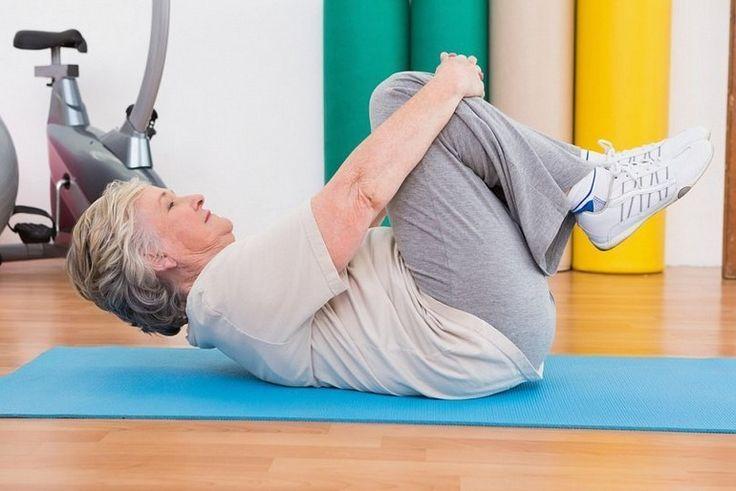 Полезная гимнастика для коленей, избавляющая от артроза