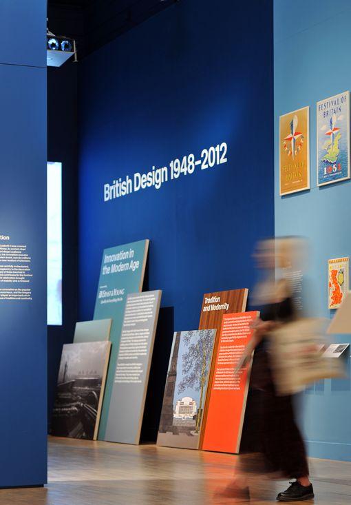 V&A British Design Exhibition.