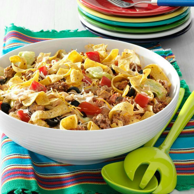 Taco salad.. | Recipes I want to try | Pinterest