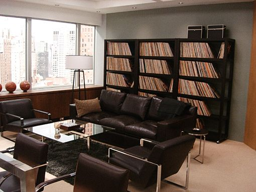 Harvey's office on Suits. What a badass