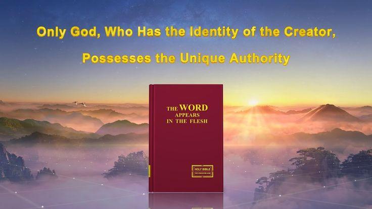 "God's Utterance ""God Himself, the Unique I God's Authority (I)"" (Part Five)"
