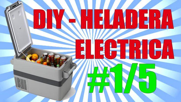 [1/5] Construir Mini Heladera / Nevera Eléctrica Portátil Casera   DIY P...