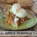 Dutch Apple Pumpkin Crisp