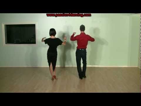 Rumba dance steps - Rumba basic steps for beginners - YouTube