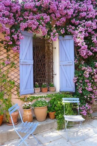A pleasant place ~ Grimaud, Var, French Riviera