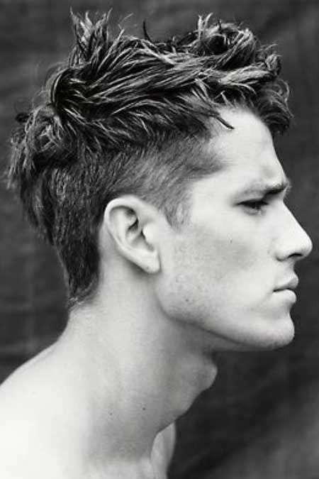 short back and sides long on top with fringe - Google Search