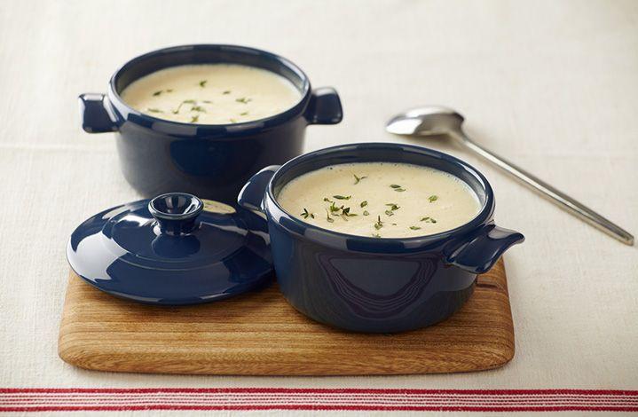 Anímate a preparar este deliciosa Crema de papa con el rico sabor de CREMA DE LECHE ®  #Crema de Leche #NESTLÉ