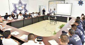 Imparte CNDH curso de legalidad y derechos humanos a personal de la SSPO