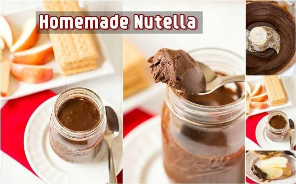 DIY Homemade Delicious Nutella Spread - Find Fun Art Projects to Do at Home and Arts and Crafts Ideas | Find Fun Art Projects to Do at Home and Arts and Crafts Ideas