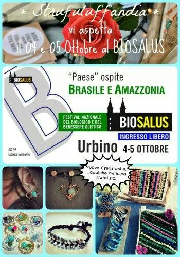 #Strufuluffandia vi aspetta al #Biosalus ad Urbino il 4 e 5 ottobre!
