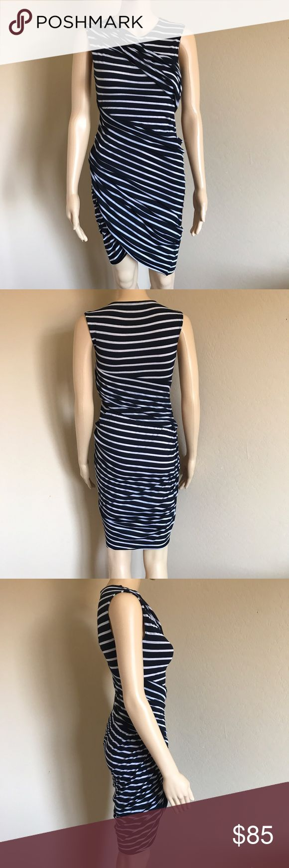 Bailey 44 Striped Dress Excellent condition ✨ very stretchy Bailey 44 Dresses Mini