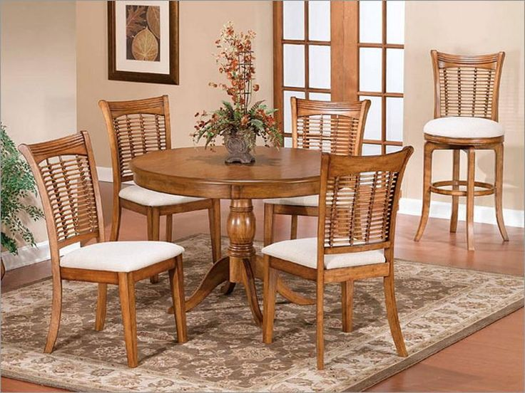 Charming Oak Dining Room Table Of Contemporary Look : Modern Dining Room  Design Round Oak Dining