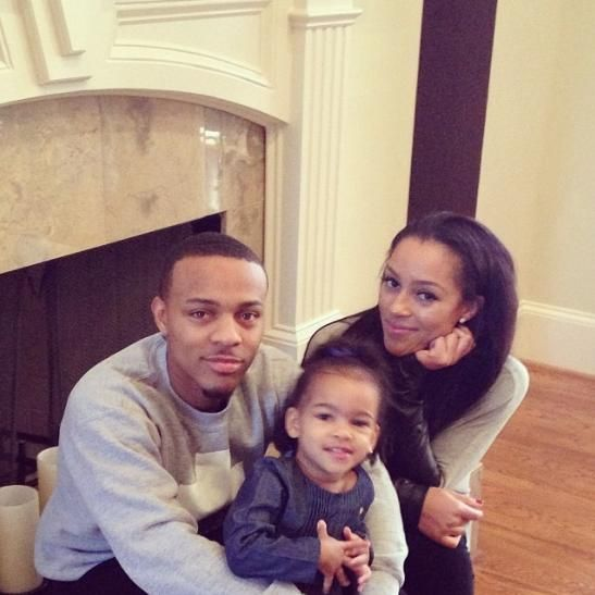 Bow Wow, his daughter and his baby's mother