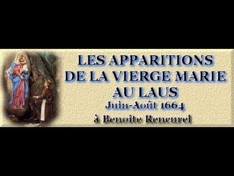 L'apparition de Notre Dame au Laus à Benoîte Rencurel, 1664
