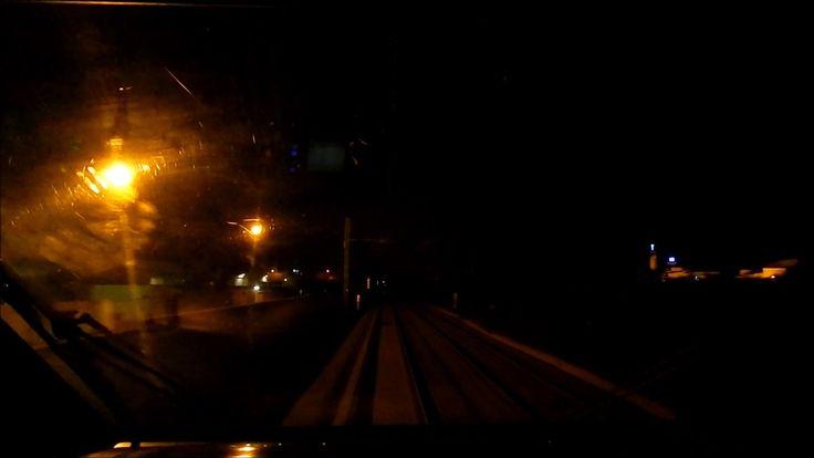 """""""GOLD EDITION"""" CAB RIDE ETR 485 in notturna da Barletta a Trani a 180Km/h"""