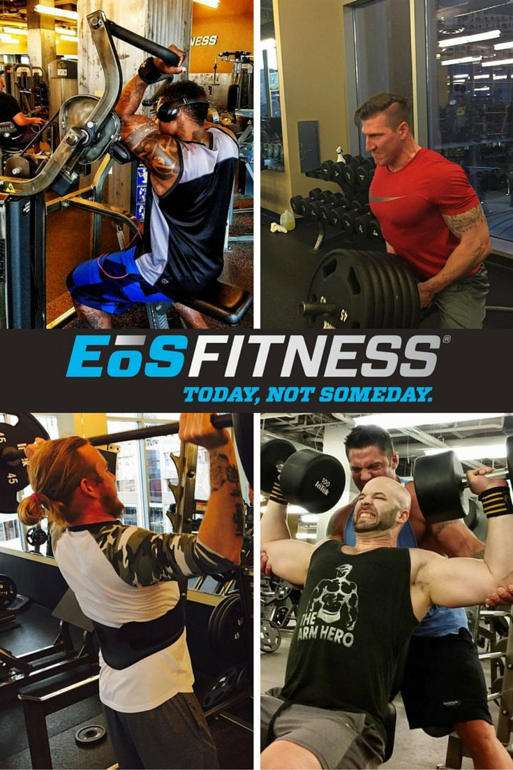"""""""Accomplishments are made in PAIN and SWEAT.""""  At EOS Fitness, you can pursue a wide range of fitness goals at your own pace, while defining your own version of fitness."""