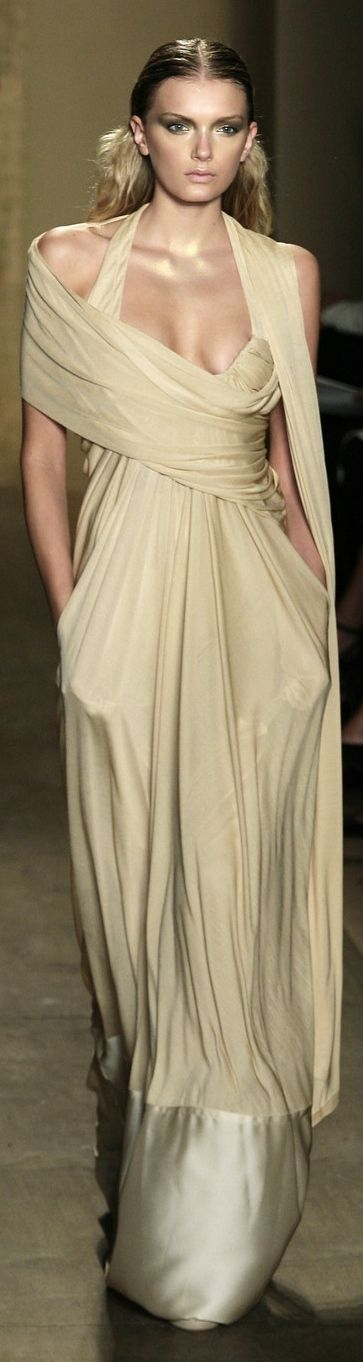 1000 images about modern goddess on pinterest grecian for Donna karan wedding dresses