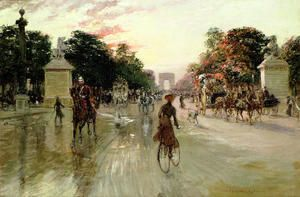 The Champs Elysees, Paris  Georges Stein