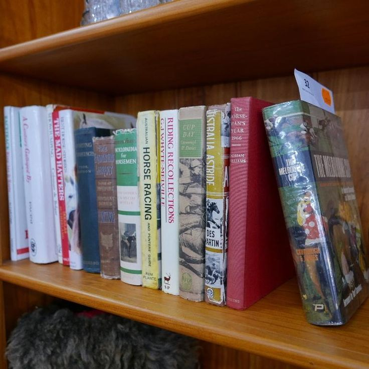 A selection of horse racing books