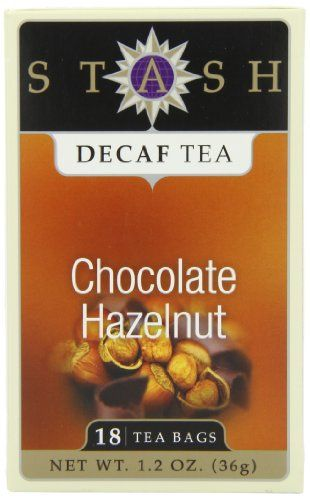 Stash Tea Decaf Chocolate Hazelnut Tea, 18 Count Tea Bags in Foil (Pack of 6) - http://teacoffeestore.com/stash-tea-decaf-chocolate-hazelnut-tea-18-count-tea-bags-in-foil-pack-of-6/