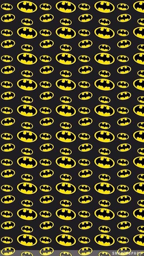 Yellow Batman Symbols