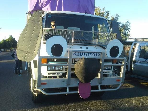 Our Mt Isa branch celebrated the Mt Isa Rodeo in style; supporting Paws, Hoofs & Claws with our truck as the float. The group managed to win the best comedy float and $1,000 to go towards rehoming lost and abandoned animals!  #animalrescue