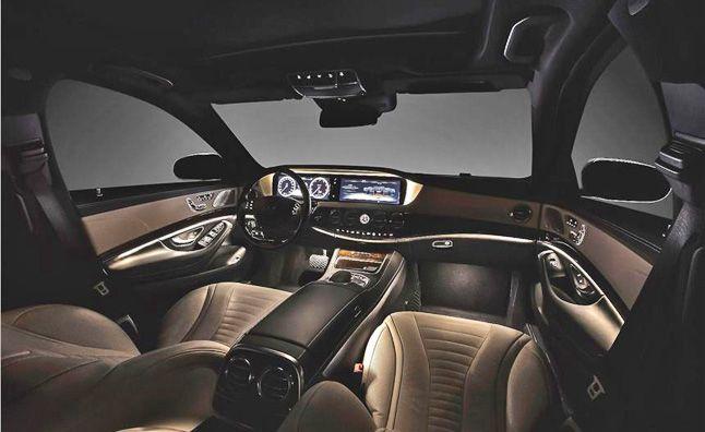 2014 Mercedes S-Class Interior Revealed. For more, click http://www.autoguide.com/auto-news/2013/03/2014-mercedes-s-class-interior-revealed.html