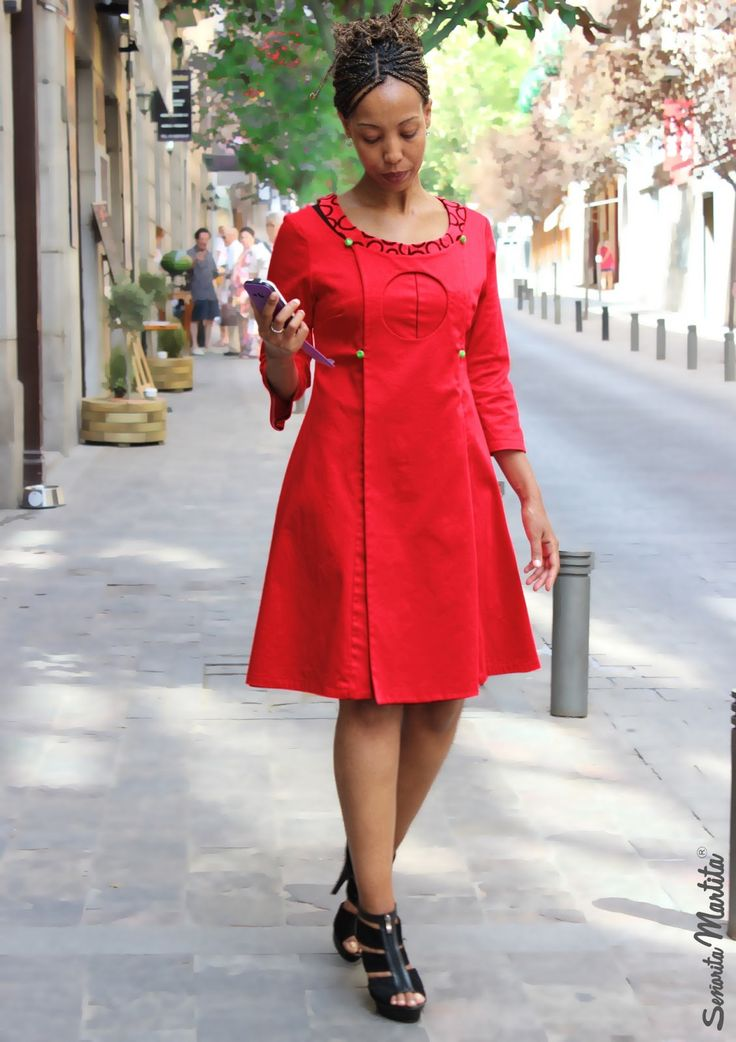 cotton coat or dress - Señorita Martita ® summer street-style