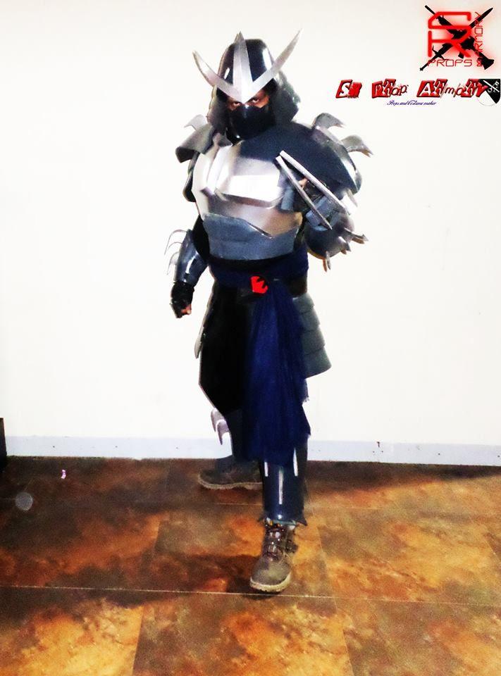 shredder V-2003 cosplay at Dhala Comicom(DCC)