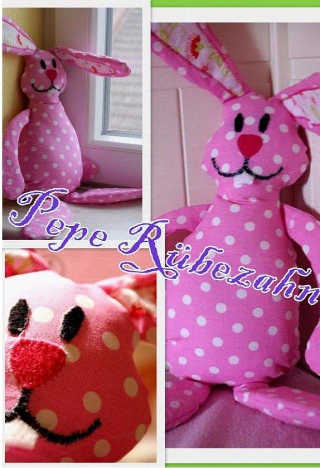 179 besten ::Stofftier Hase-Schaf Bilder auf Pinterest | Kissen ...