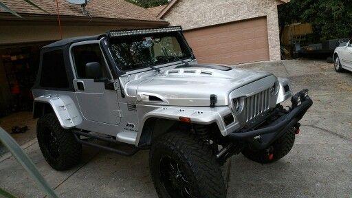 jeep wrangler 2006 tj lj custom hood completed 2006 jeep 2006 Ford Mustang Hood
