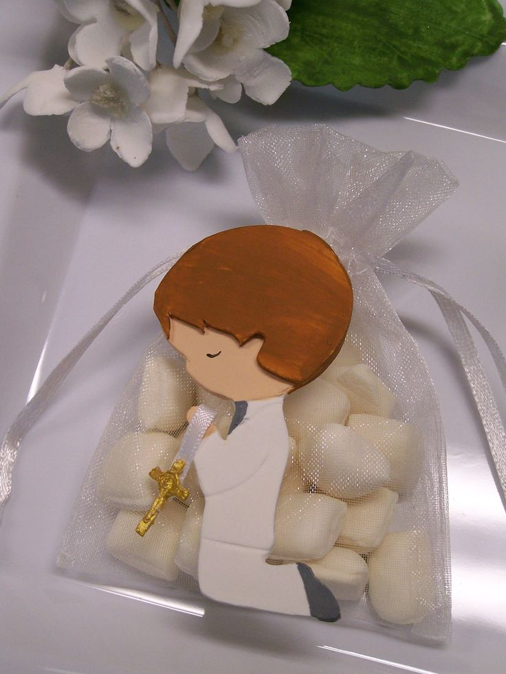 First Communion, baptism, confirmation Little Boy party favor bags 10 pieces. $20.00, via Etsy.