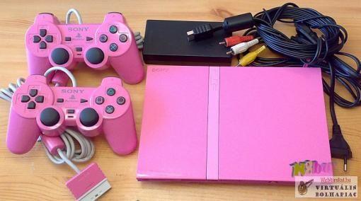Playstation2 Slim Limited Edition, lányoknak, PINK