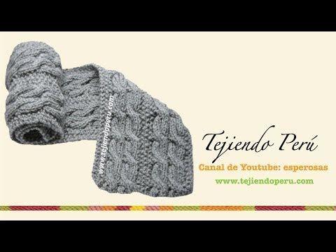 7 vídeo tutoriales para tejer una bufanda bien calentita | Manualidades