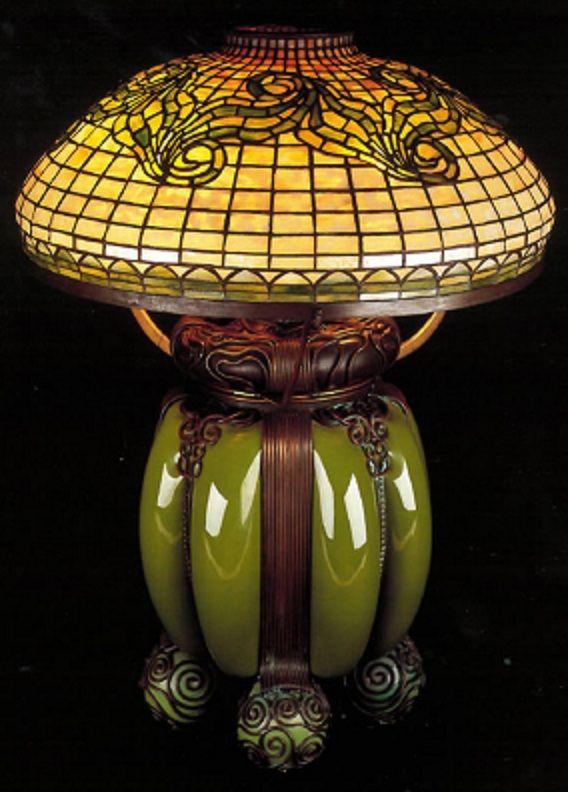 Louis Comfort Tiffany lamp ca.1900: