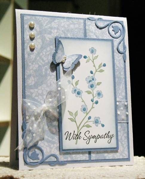 Garden Sympathy by darleenstamps - Cards and Paper Crafts at Splitcoaststampers