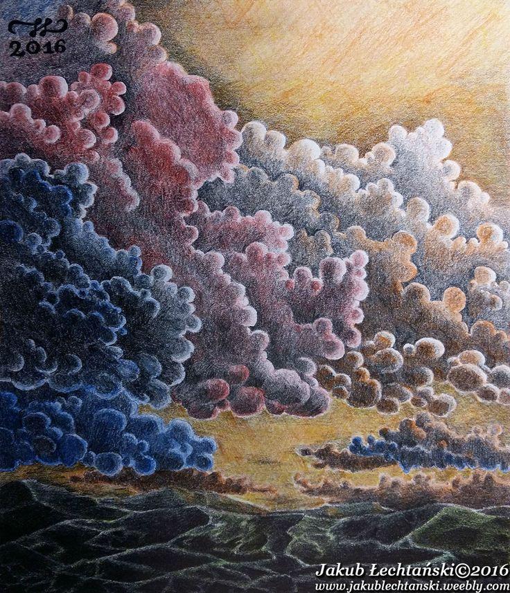 "Rysunek ""Chmurne Experymenty"" 2016. Cloud experiments"