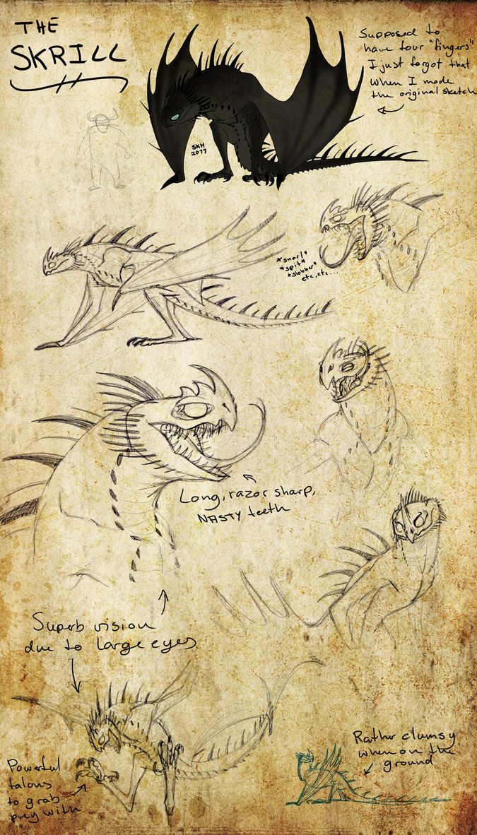HTTYD: Skrill by Iceway on deviantART