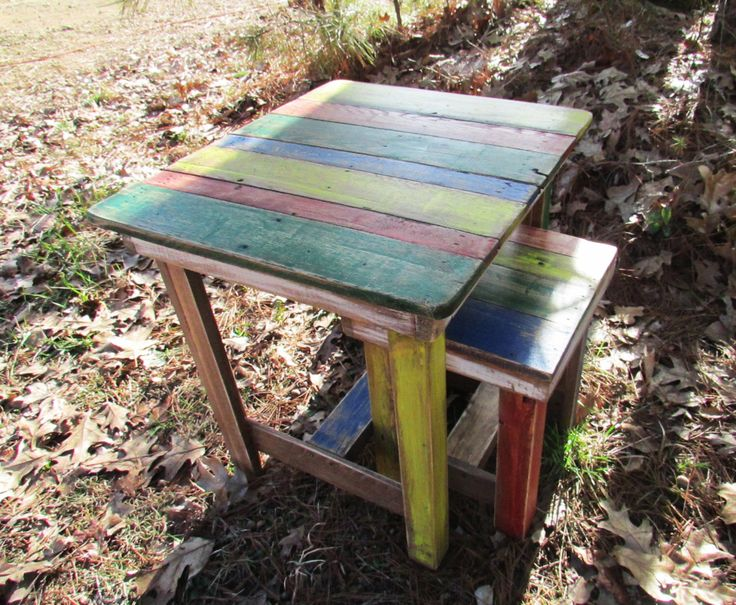 Rustic Kids Table & Chairs, Wooden Kids Table, Children's Table, Art Table, Kids furniture, Kids desk, Kids stool, kids chair, toddler table by SereneVillage on Etsy https://www.etsy.com/listing/226418156/rustic-kids-table-chairs-wooden-kids