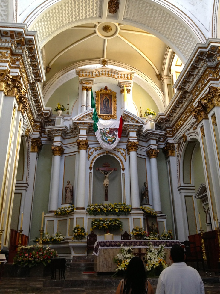 Cathedral In Colima, Mexico