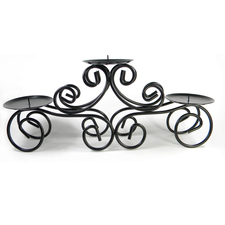 Tuscan Centerpiece Candle Holder   Overstock.com