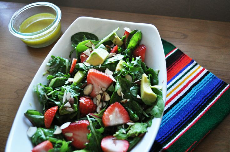 Margarita Salad With Tequila Lime Dressing