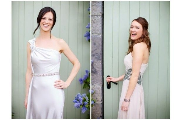Gorgeous girls! www.empowerstudio.ie #wedding #brides #makeup #beauty